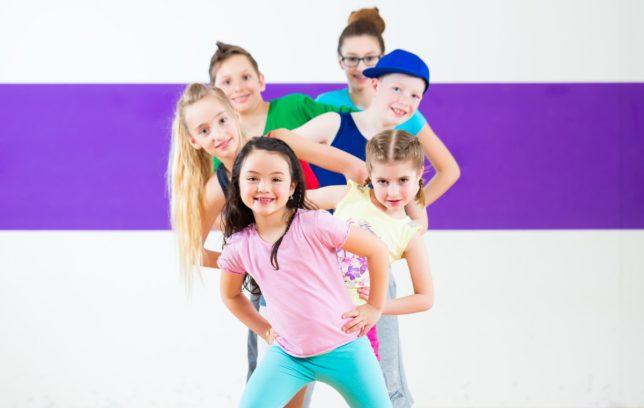 Современные танцы (Hip-hop,Jazz Funk) для детей от 6 до 15 лет