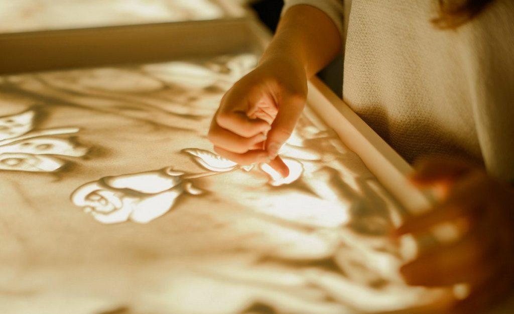 Научусь рисовать песком